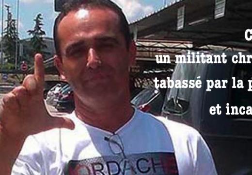 Cuba : un militant chrétien tabassé par la police et incarcéré
