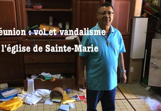 La Réunion : église pillée et vandalisée à Sainte-Marie
