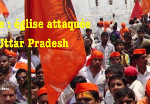 Inde : église attaquée en Uttar Pradesh