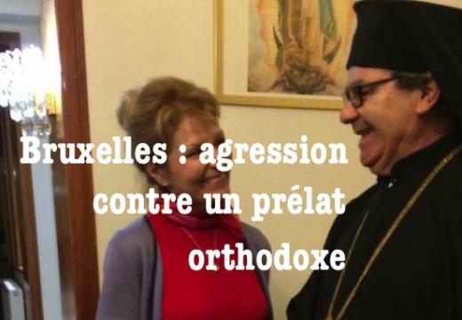 Bruxelles : agression contre un prélat orthodoxe