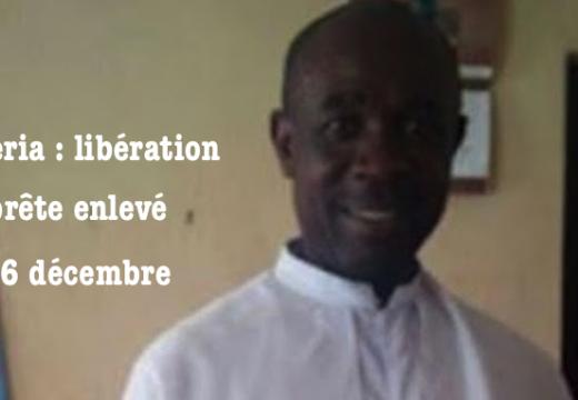 Nigéria : libération du prêtre catholique enlevé dans le Delta
