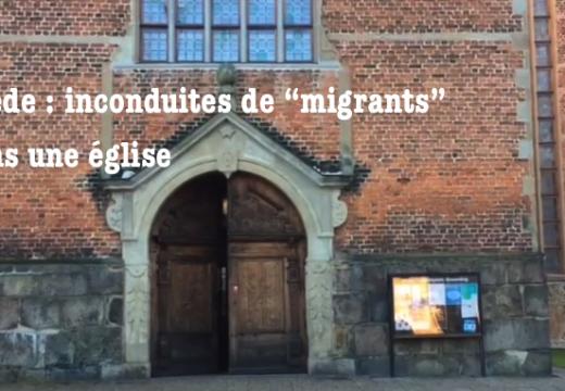 """Suède : inconduites de """"migrants"""" dans une église de Kristianstad"""