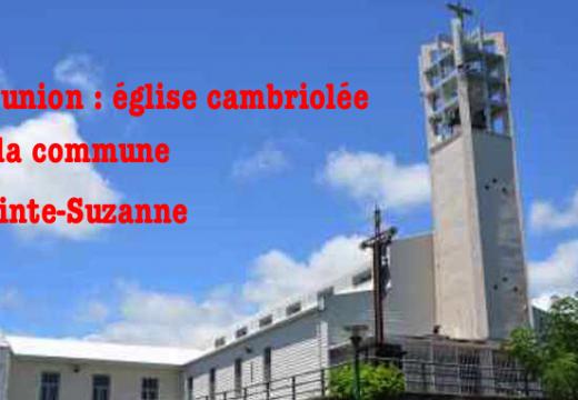 La Réunion : église cambriolée dans la commune de Sainte-Suzanne