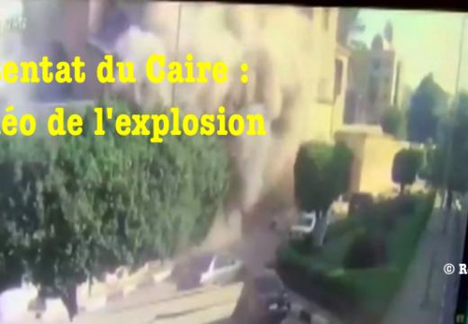 Attentat du Caire : vidéo terrifiante de l'explosion
