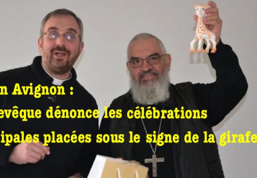 Avignon : un « Noël autrement » sous le signe de la girafe…
