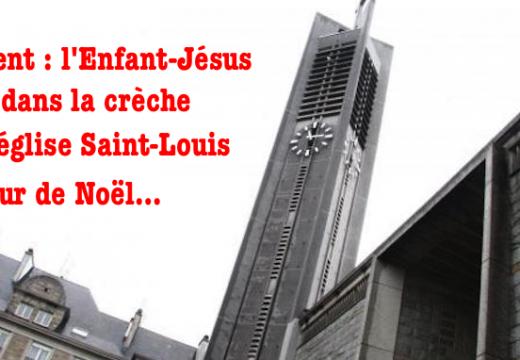 Lorient : l'Enfant-Jésus volé dans la crèche de l'église Saint-Louis