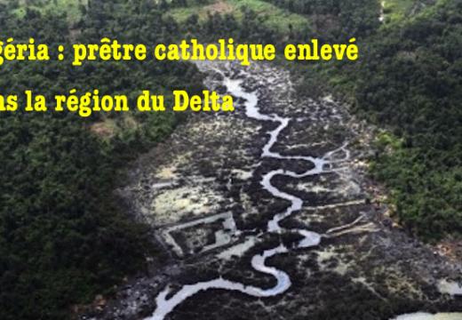 Nigéria : un prêtre enlevé dans la région du Delta