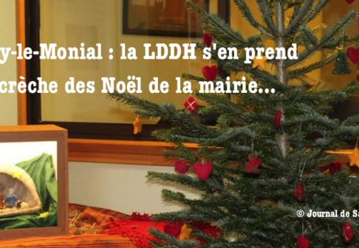 Paray-le-Monial : la LDDH s'attaque à une crèche à la mairie