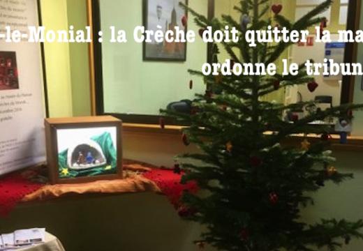 Scandale à Paray-le-Monial : la Crèche doit quitter la mairie !