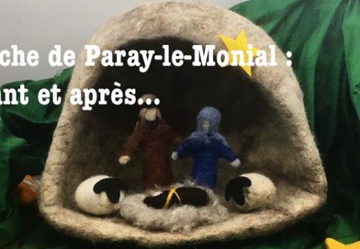 Crèche de Paray-le-Monial : avant et après…