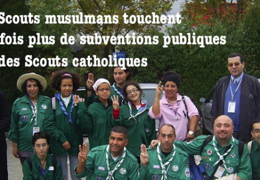 Les Scouts musulmans reçoivent 367 fois plus de subventions publiques que des scouts catholiques