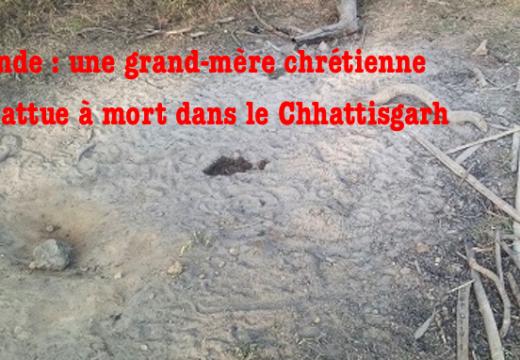 Inde : une grand-mère chrétienne battue à mort dans le Chhattisgarh