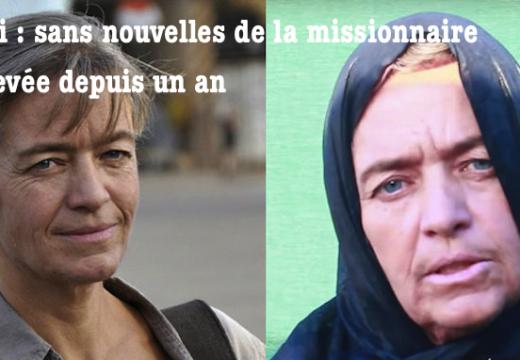 Mali : sans nouvelle d'une missionnaire enlevée depuis un an…