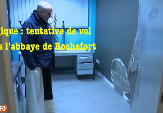 Belgique : tentative de vol à l'abbaye de Rochefort