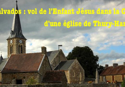 Calvados : Enfant Jésus volé dans la crèche d'une Église à Thury-Harcourt