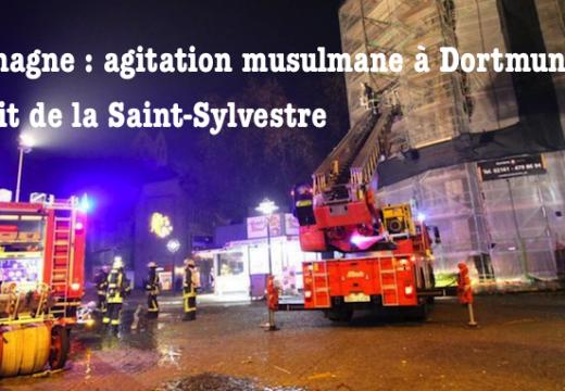 """Dortmund : Saint-Sylvestre aux cris de """"Allahou Akbar"""" et début d'incendie d'une église"""