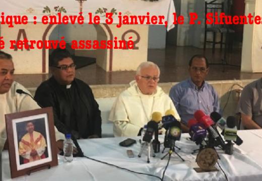 Mexique : le Père Sifuentes a été assassiné