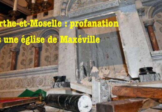 Meurthe-et-Moselle : vandalisme et profanation dans une église de Maxéville
