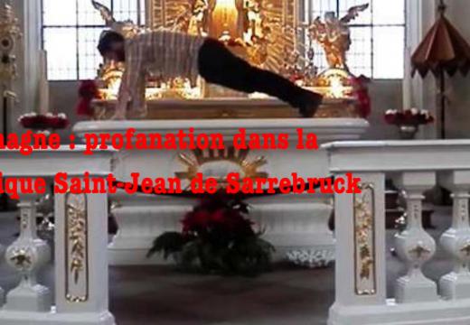 Allemagne : profanation dans une église de Sarrebruck
