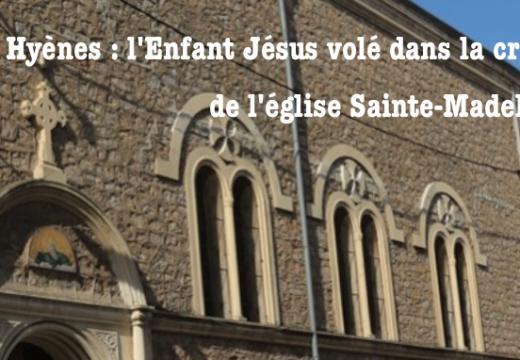 Var : l'Enfant Jésus volé dans la crèche d'une église à Hyères