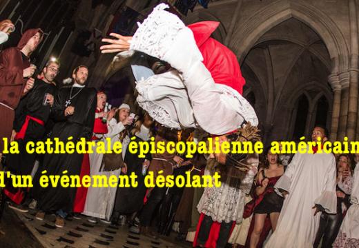 Paris : la cathédrale américaine sert de cadre à un événement contestable
