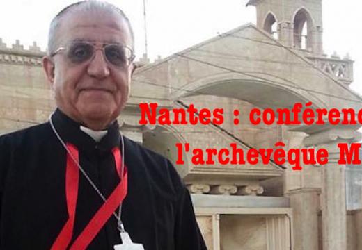 Nantes : conférence de l'archevêque chaldéen de Kirkouk