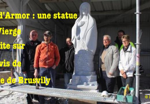 Côtes-d'Armor : une statue de la Vierge interdite sur le parvis d'une église