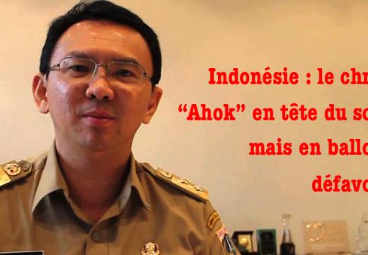"""Indonésie : le chrétien """"Ahok"""" en tête du scrutin mais…"""