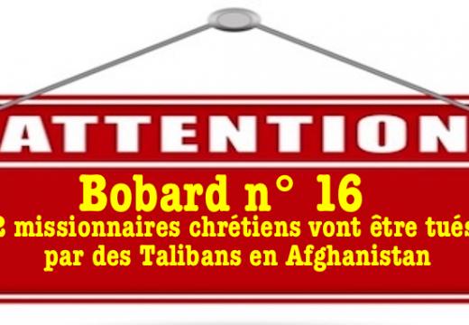 Bobard : 22 missionnaires chrétiens vont être tués par des Talibans en Afghanistan