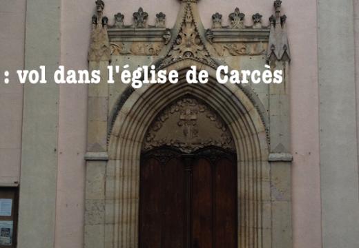 Var : vol dans l'église Sainte-Marie de Carcès