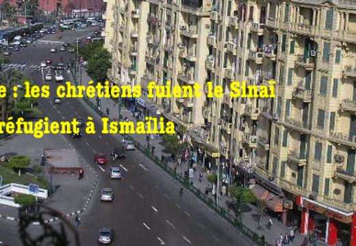 Égypte : les chrétiens fuient le Sinaï