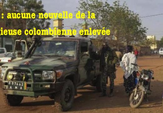 Mali : aucune nouvelle de la religieuse enlevée