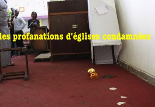 RDC : réprobation des profanations anticatholiques