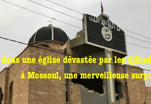 Vidéo : église orthodoxe détruite par les islamistes, mais…