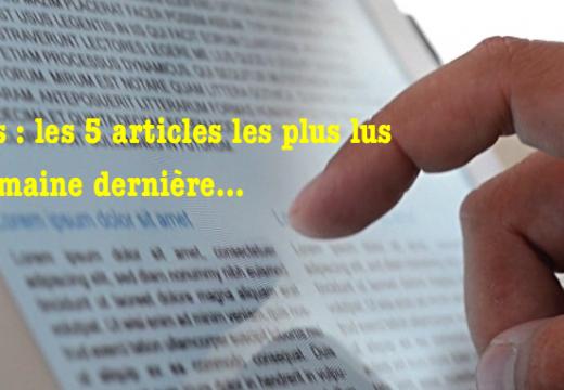 L'Obs : les articles les plus lus sur le blogue et ceux qui ont atteint le plus de personnes sur FB