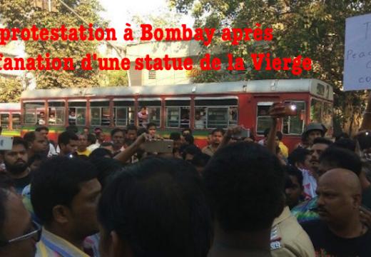 Inde : une statue de la Vierge profanée à Bombay