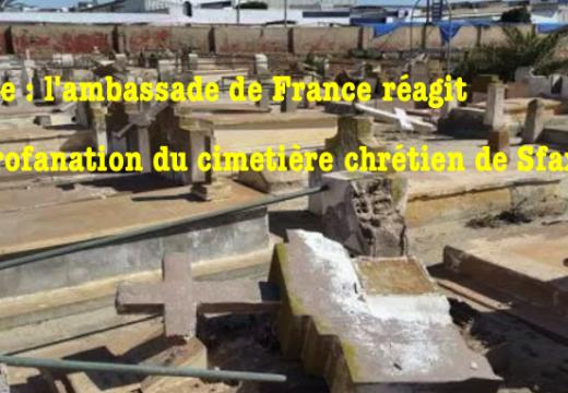 Tunisie : l'ambassade de France réagit à la profanation du cimetière de Sfax