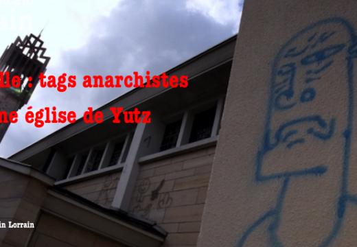 Moselle : tags anarchistes sur une église de Yutz