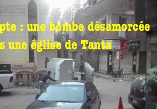 Égypte : bombe désamorcée dans une église de Tanta
