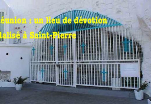 La Réunion : la grotte de Notre-Dame de Lourdes vandalisée à Terre Sainte