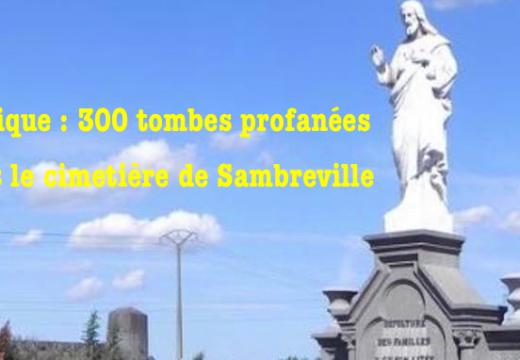 Belgique : 300 tombes profanées à Sambreville