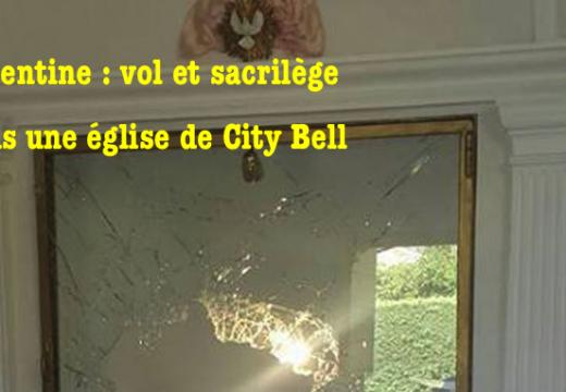 Argentine : vol et sacrilège dans une église de City Bell