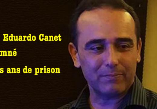 Cuba : Eduardo Cardet condamné à trois ans de prison