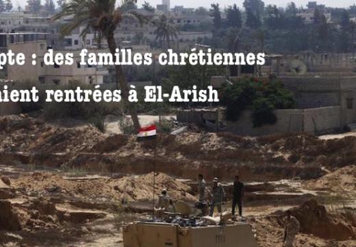 Égypte : retour de chrétiens dans le Sinaï Nord ?