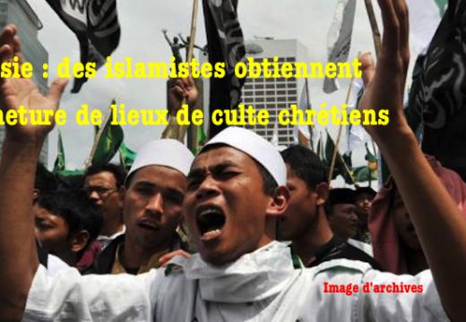 Indonésie : lieux de culte fermés pour… protéger les chrétiens !