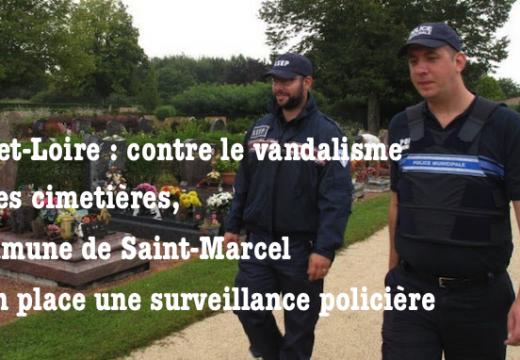 Saône-et-Loire : vols et vandalisme dans les cimetières de Saint-Marcel