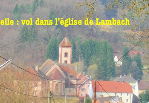 Moselle : vol dans une église de Lambach