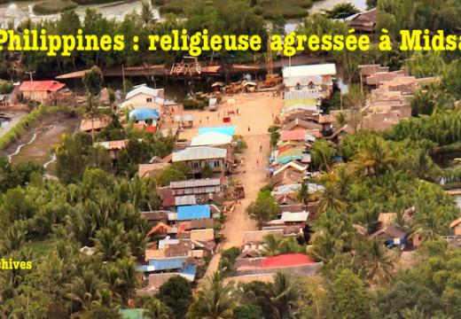 Philippines : une religieuse agressée dans le Mindanao