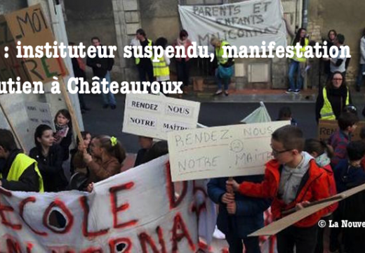 Malicornay : manifestation devant l'Inspection académique…