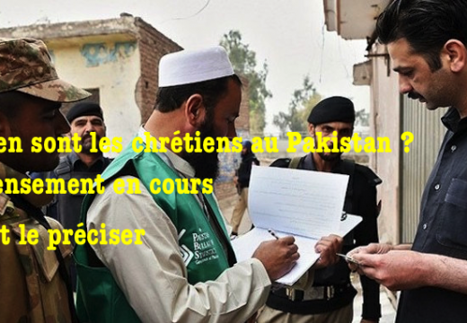 Pakistan : les chrétiens invités à participer au recensement national